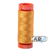 Aurifil 50 Cotton Thread - 2140 (Orange Mustard)